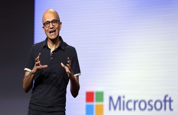 Tech future as seen by Microsoft CEO Satya Nadela