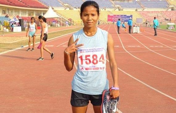 Ntl Jr Athletics: Munita sets new 10,000m race walk record