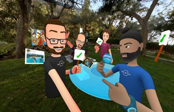 Facebook Develops Real-Time, Interactive VR Avatars