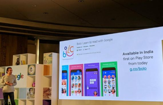 Google launches reading tutor app 'Bolo' for kids in India