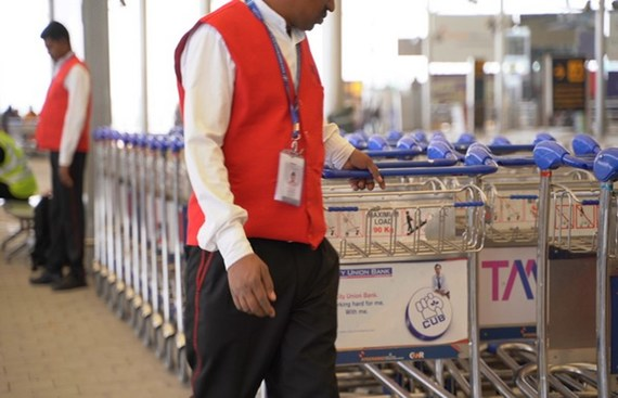 Hyderabad airport introduces IoT enabled smart baggage trolleys