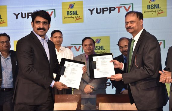 YuppTv & BSNL Hybridizing Streaming and Broadband Services