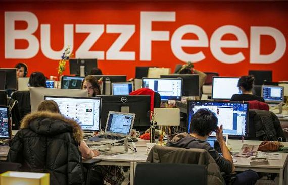 Digital news outlets Buzzfeed, Verizon lay off over 1,000 journalists