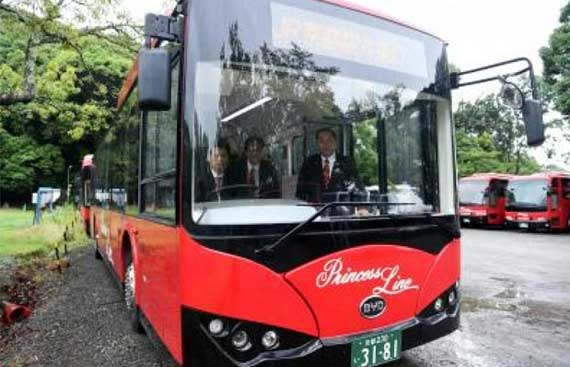 Punjab may sign deal with Japan to launch e-buses