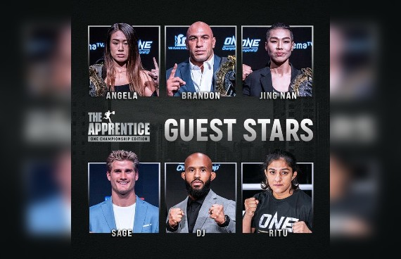 Six World Champions to Join the Cast of 'The Apprentice: ONE Championship Edition' as Guest Stars