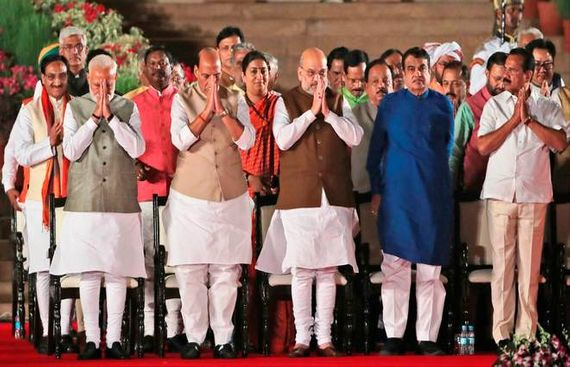 Modi 2.0: Old and new faces greet economic ministries
