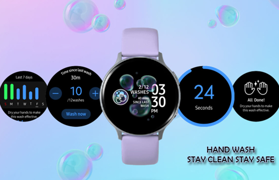 Samsung India researchers develop hand wash app for Galaxy Watch