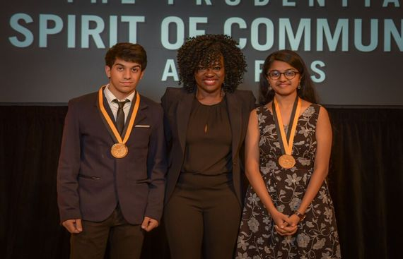 Delhi�s Award Winning Youth Volunteers Honored by The Prudential Spirit of Community Awards