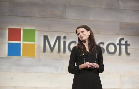 Women now represent 28.6% of Microsoft's global workforce
