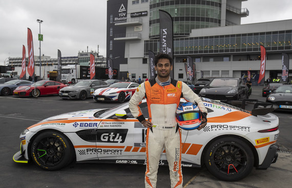 Rabindra to race in European GT4 Championship