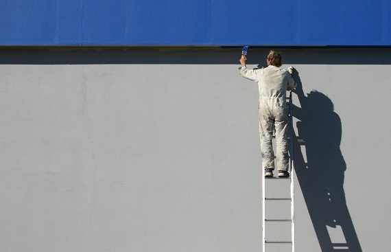 Why is it a good idea to hire professional painters?