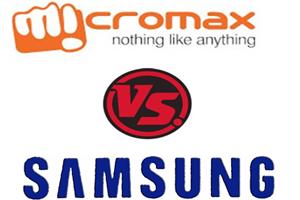 Micromax vs Samsung