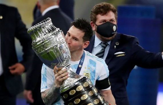 An End For The Long Awaits: Messi Wins First Title With Argentina