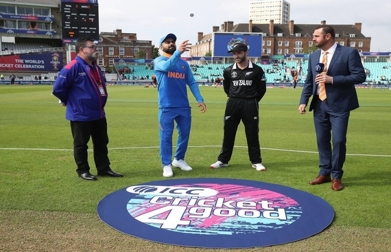 New Zealand Opt to Bat Against India in WC Semi-Final