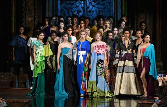 New York Fashion Week Saw the Vibrant Indian Textiles & Techniques