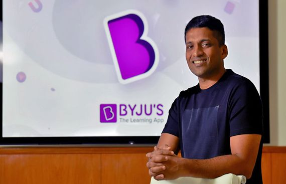 Byju's Founder Raveendran Becomes New Billionaire