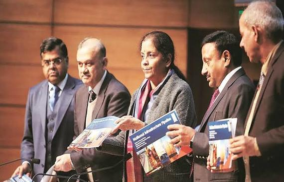 Centre Lines up Infrastructure Projects Worth Rs 102 lakh cr