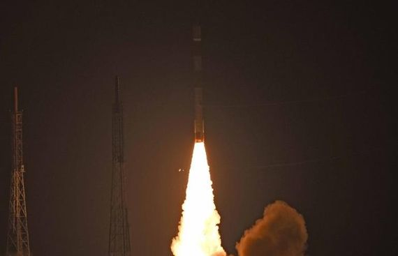 India puts into orbit satellite 'Microsat R' for DRDO and 'Kalamsat'