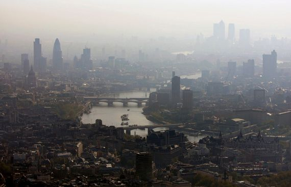 Air pollution 'largest environmental risk to public health in UK'