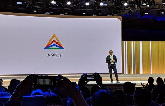 Google unveils software-based open platform 'Anthos'