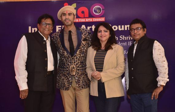 India Fine Arts Council Appoints Sandip Soparrkar as its New Chairperson