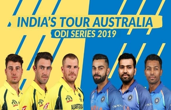 1st ODI: Australia opt to bat vs India (Toss)