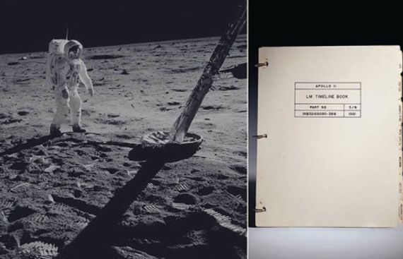 Artefacts from First Moon Missions to go on Auction