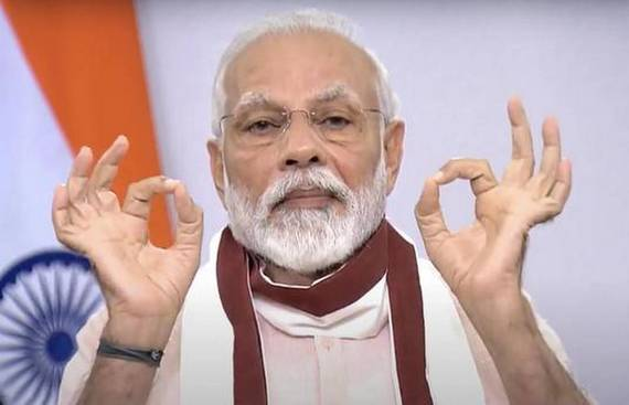 India now ranks 4th in renewable energy:  Narendra Modi