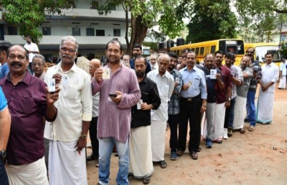 Lok Sabha voting mostly concluded in south India
