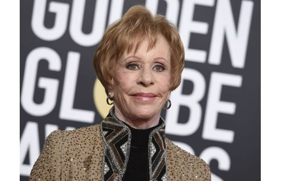 Golden Globes: Carol Burnett emotional to get namesake Lifetime Achievement Award