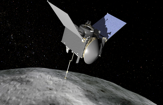 NASA probe makes new discoveries on asteroid Bennu