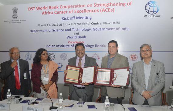 IIT Roorkee Spearheads MoU between Govt. of India & World Bank
