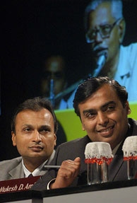 Ambanis up, Mittal slips on Forbes' richest CEO list