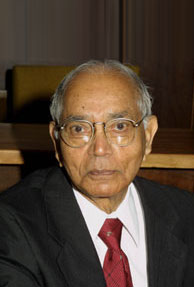 Indian American C.R. Rao receives the RSS Guy Medal Award