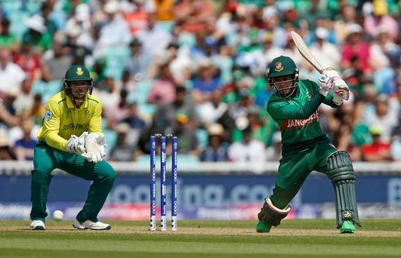 Bangladesh stun South Africa by 21 runs