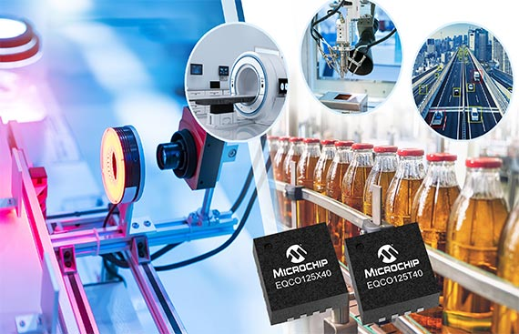 Microchip Announces High-Speed CoaXPress 2.0 Devices that  Speed Machine Vision Image Capture While Simplifying System  Design and Deployment