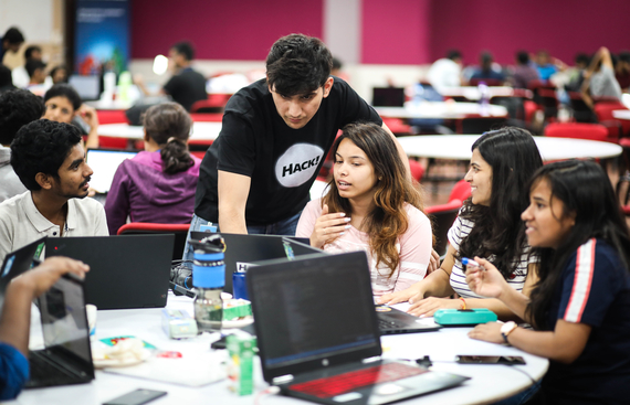Microsoft Hosts World's Largest Private Hacking Event - One Week Hackathon 2019