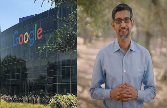 Google's lifetime net carbon footprint now zero: Sundar Pichai