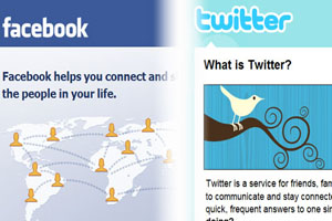 Facebook And Twitter Distract Employees At Work