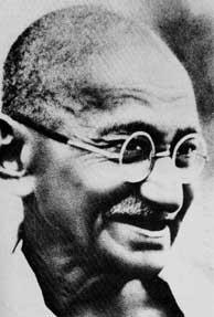 Non-violence preacher Gandhi a racist?
