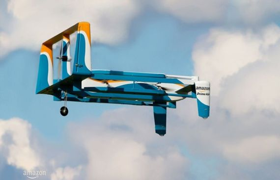 New Amazon Drone to Deliver Packages in your Backyard