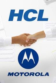 HCL Info, Motorola get Rs. 100 Crore radio contract