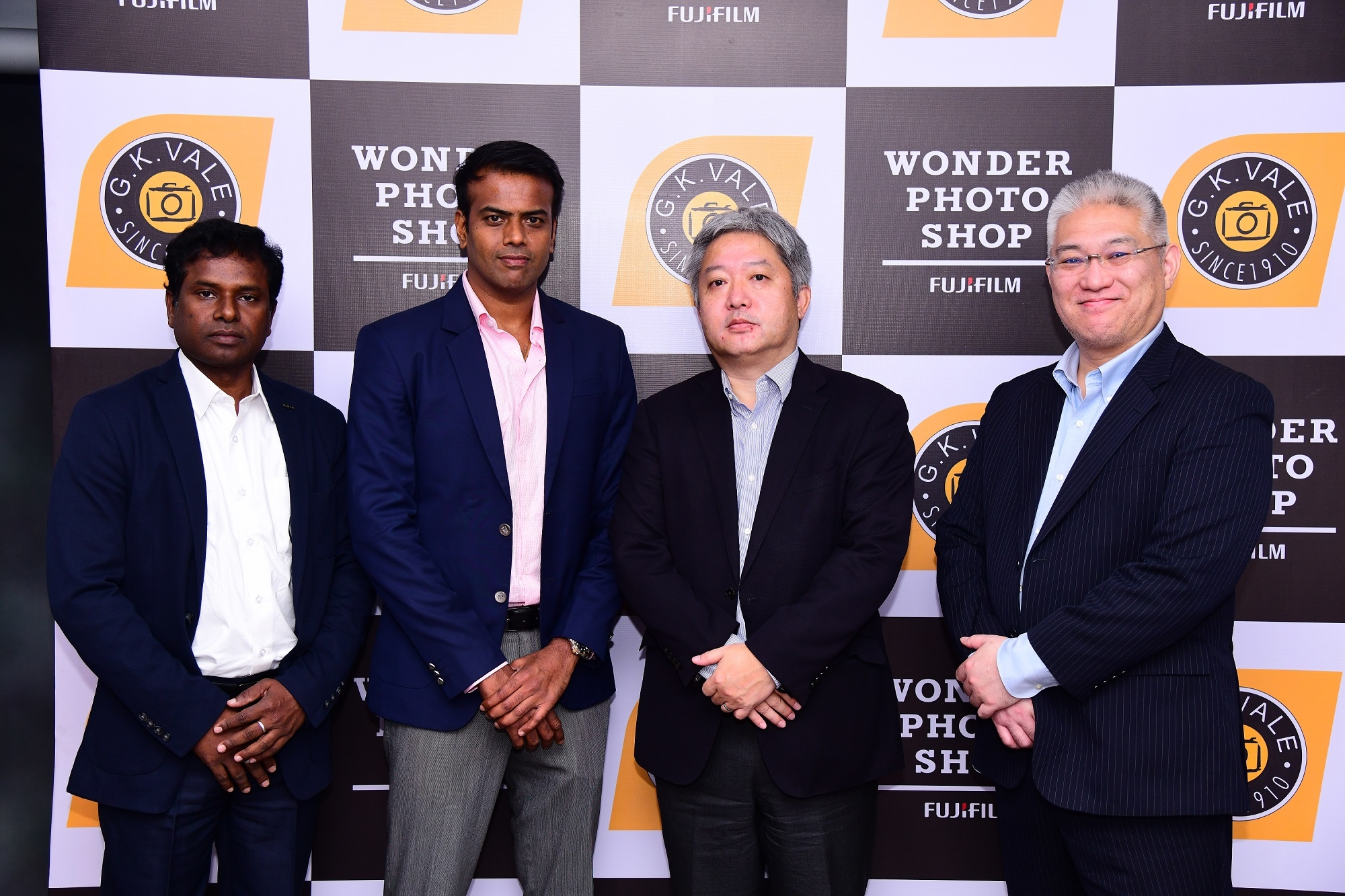 Fujifilm Indian & GK Vale Opens First Ever Co-branded Wonder Photo Shop in Bengaluru