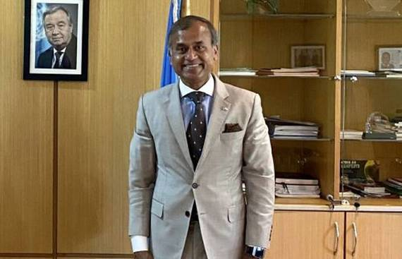 Siddharth Chatterjee Takes Charge as Top UN Diplomat in China