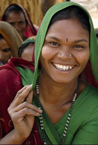 Indian women rank first for being most optimistic