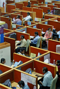 Indian IT majors to follow Accenture's sales model
