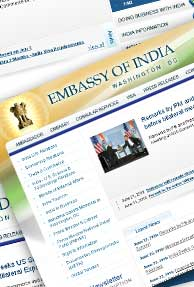 Indian Embassy in U.S. launches its new website