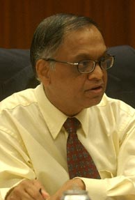 Lay-offs fine, downturn should not be the excuse: Murthy