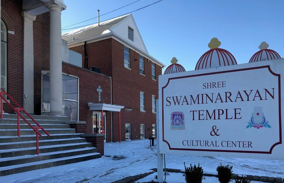 Hindus Impel Governor and other Religious Leaders to Visit the Vandalized Temple in Louisville