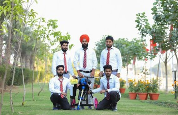 Chandigarh University Engineering Students Develop Multipurpose Crop Residue Manager to Solve Problems in Indian Agriculture